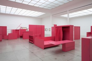 As He Remembered It, installation view, Secession Vienna, 2011